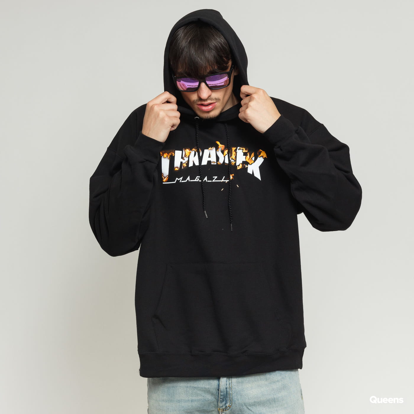 Thrasher Intro Burner Hoody black