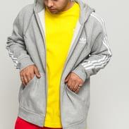 adidas Originals 3-Stripes FZ melange šedá