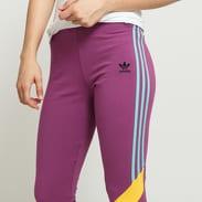 adidas Originals HW Tights fialové / světle modré / žluté
