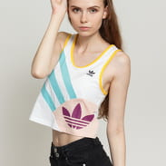 adidas Originals Tank Top Cropped bílé