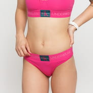 Calvin Klein Thong tmavě růžové