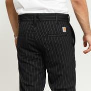 Carhartt WIP Taylor Pant černé / bílé