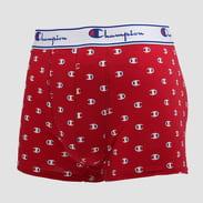 Champion 2 Pack Boxers Small Logo modré / červené / bílé