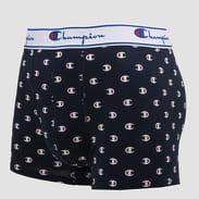Champion Cotton Boxer Small Logo navy