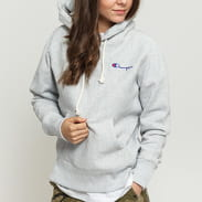 Champion Hooded Sweatshirt melange šedá