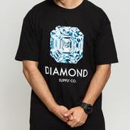 Diamond Supply Co. Asscher Cut SS Tee černé