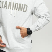 Diamond Supply Co. French Terry Hoodie melange světle šedá / šedá