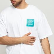 Diamond Supply Co. Mini OG Sign SS bílé / tyrkysové