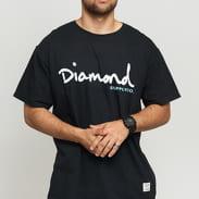 Diamond Supply Co. OG Script Overdye SS černé