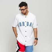 Jordan DNA Distorted Shooting Shirt bílý