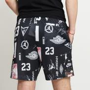 Jordan Jumpman GFX Mesh Short černé / bílé