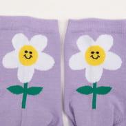 LAZY OAF Daisy Socks fialové