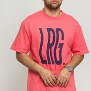 LRG Wavy LRG Tee růžové