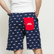 Mass DNM Sweatshorts Blockbuster navy / bílé