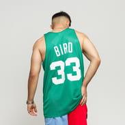 Mitchell & Ness NBA Reversible Mesh Tank Top Boston Celtics #33 zelený / bílý
