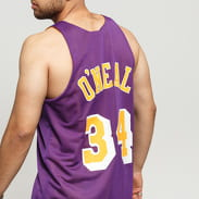 Mitchell & Ness NBA Reversible Mesh Tank Top LA Lakers #34 žlutý / fialový