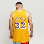 Mitchell & Ness NBA Reversible Mesh Tank Top LA Lakers #32 žlutý / fialový