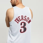 Mitchell & Ness NBA Reversible Mesh Tank Top Philadelphia 76ers #3 černý / bílý