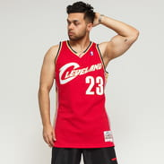 Mitchell & Ness NBA Swingman Jersey Cleveland Cavaliers Lebron James červený