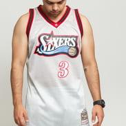 Mitchell & Ness NBA Swingman Jersey Philadelphia 76ers - Allen Iverson #3 stříbrný