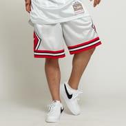 Mitchell & Ness NBA Swingman Shorts Chicago Bulls stříbrné