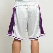 Mitchell & Ness NBA Swingman Shorts LA Lakers stříbrné