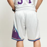 Mitchell & Ness NBA Swingman Shorts Utah Jazz stříbrné