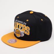 Mitchell & Ness Team Arch LA Lakers černá / žlutá / šedá