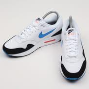 Nike Air Max 1 white / photo blue - total orange