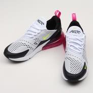 Nike Air Max 270 white / volt - black - laser fuchsia