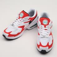 Nike Air Max2 Light white / black - habanero red