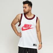 Nike M NSW Tank STMT Mesh bílé