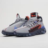 Nike React ISPA wolf grey / sapphire - dusty peach