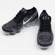 Nike W Air Vapormax Flyknit 3 black / white - metallic silver