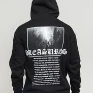 PLEASURES Black Metal Hoody černá