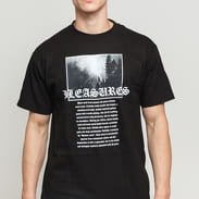 PLEASURES Black Metal Tee černé