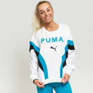 Puma Chase Long Sleeve Top bílé