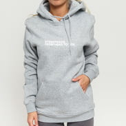 Queens Streetwear Hoodie melange šedá