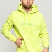 Queens Streetwear Hoodie žlutozelená