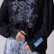 Queens X Explicit Crewneck černá