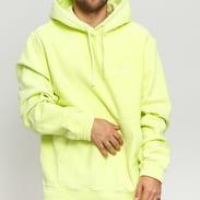 Stüssy Stock Logo Hood žlutozelená