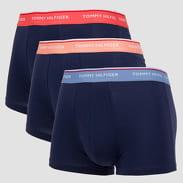 Tommy Hilfiger Trunk 3 Pack Premium Essentials navy / světle oranžové / světle růžové / modré