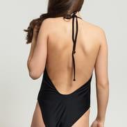 Urban Classics Ladies Deep Neck Swimsuit černé