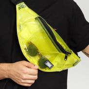 Urban Classics Transparent Shoulder Bag žlutá / černá