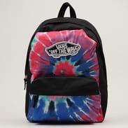 Vans WM Realm Backpack černý / růžový / modrý