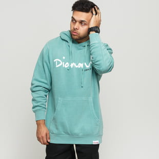 Diamond Supply Co. OG Script Pigment Overdye Hoodie
