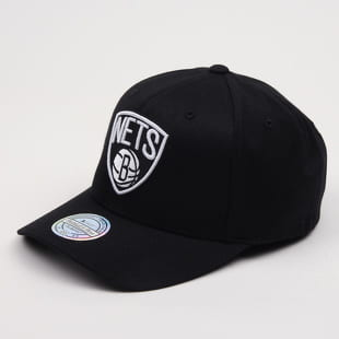 Mitchell & Ness Black & White Brooklyn Nets