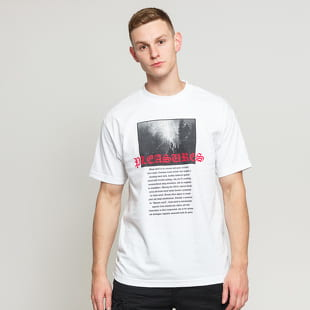 PLEASURES Black Metal Tee