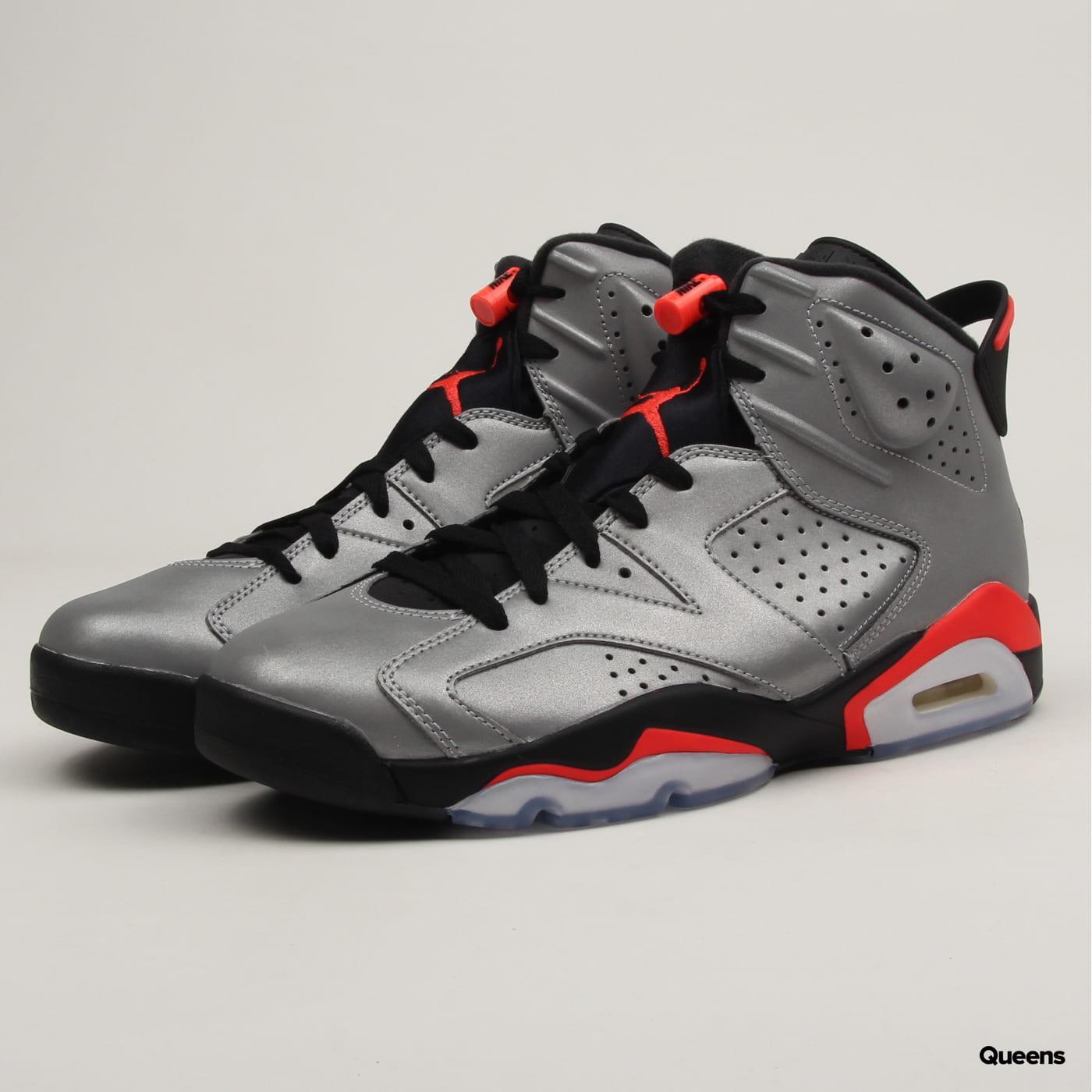de3f1eb2 Sneakers Jordan Air Jordan 6 Retro SP reflect silver / infrared - black  (CI4072-001) – Queens 💚