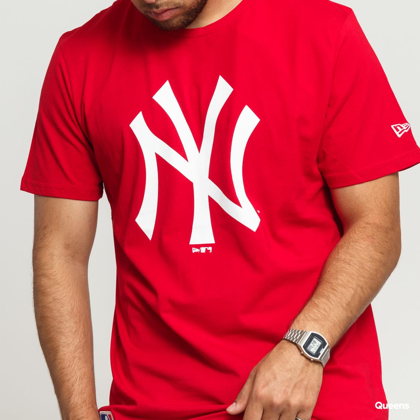 New Era MLB Team Logo Tee NY C/O rot